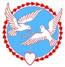 2 doves love